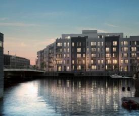 Newly build modern apartment next to promenade