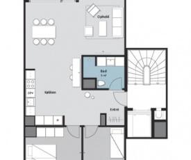 Two bedroom apartment in Copenhagen, Nordre Teglkaj 44